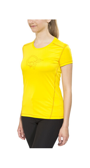 Norrøna /29 tech T-Shirt Women Mellow Yellow